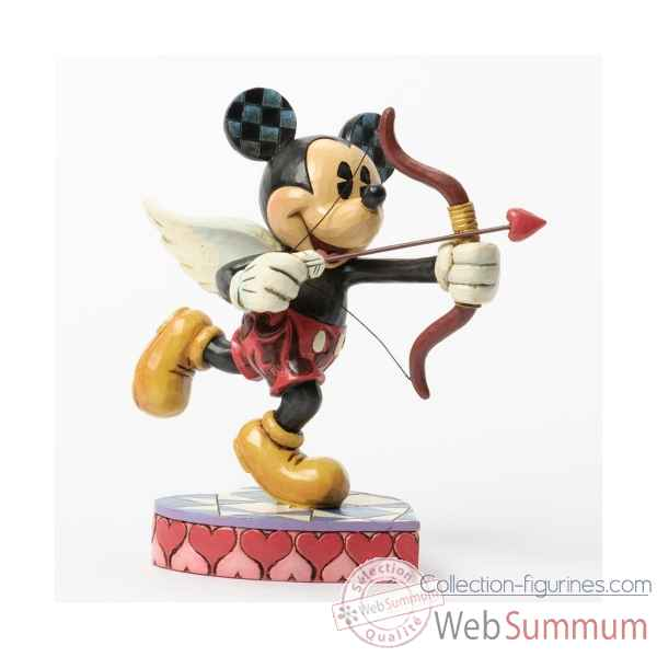 Love is in the air cupid mickey mouse Figurines Disney Collection -4037518