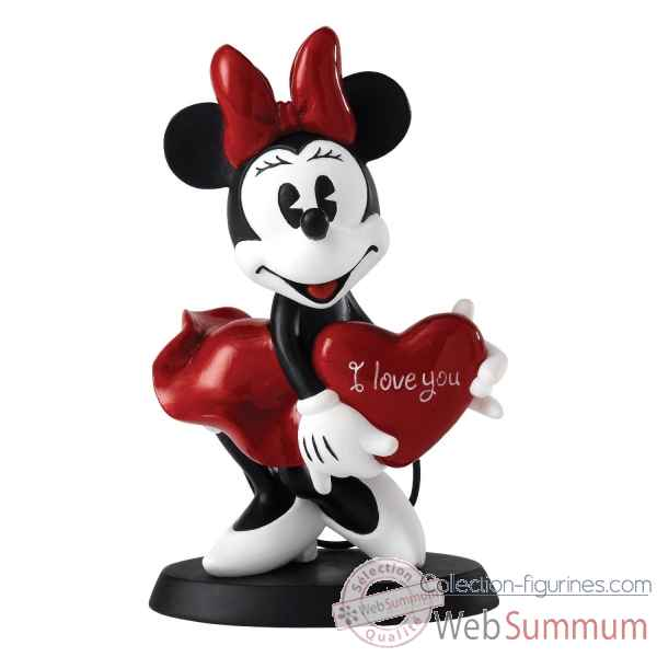 I love you (minnie figurine) enchanting dis Figurines Disney Collection -A25135