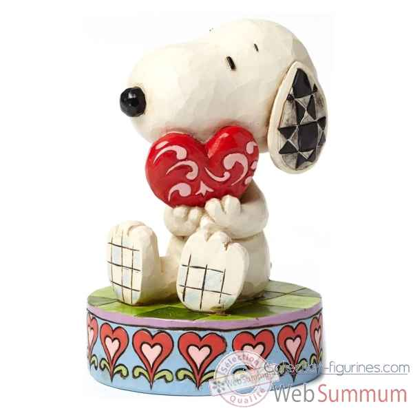Statuette I love you - snoopy with heart Figurines Disney Collection -4049396