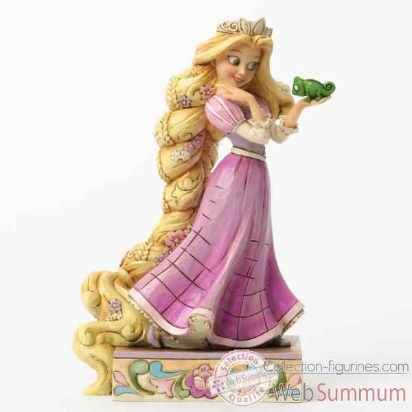 Loyalty & love rapunzel & pascal Figurines Disney Collection -4037514