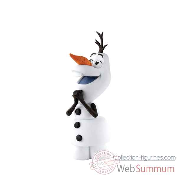 Statuette Magical snowman olaf Figurines Disney Collection -A27514