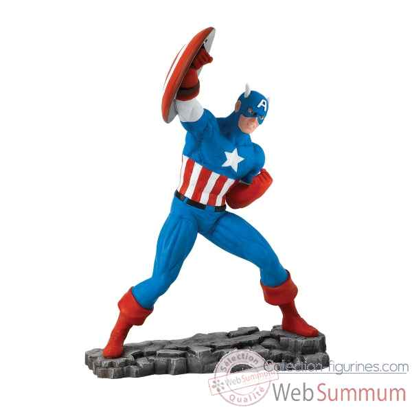 Statuette Marvel captain america Figurines Disney Collection -A27600