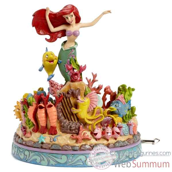 Mermaid musical under the sea Figurines Disney Collection -4039073