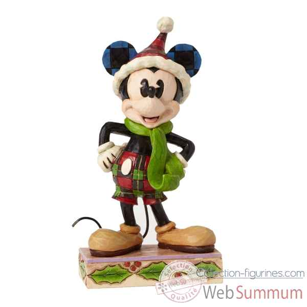Statuette Merry mickey mouse Figurines Disney Collection -4051966