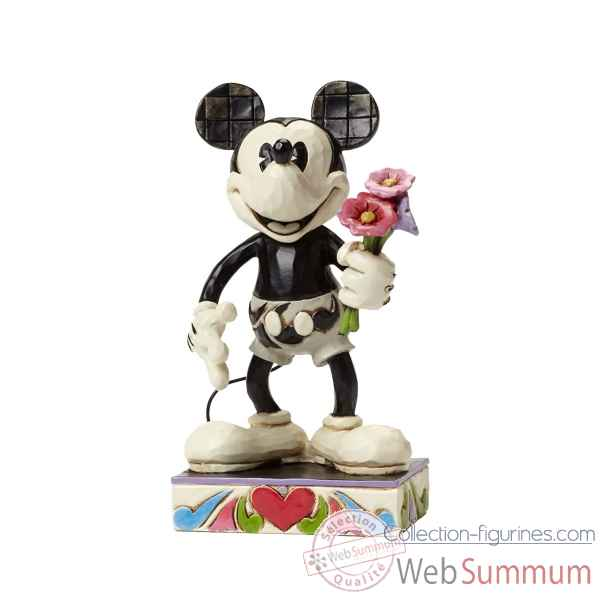 Mickey black & white Figurines Disney Collection -4043665