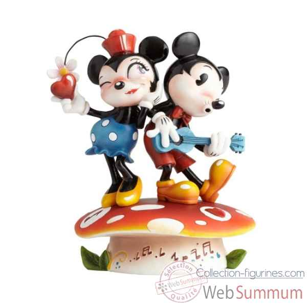 Statuette Mickey et minnie mouse Figurines Disney Collection -4058894