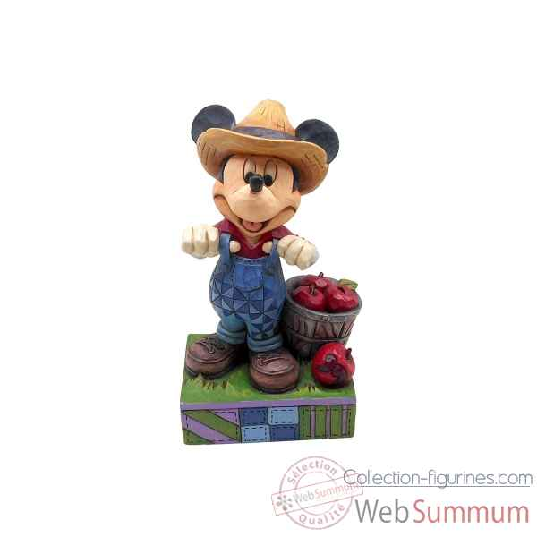 Statuette Mickey fermier Figurines Disney Collection -4049635