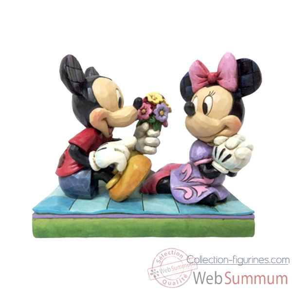Mickey & minnie Figurines Disney Collection -4046066
