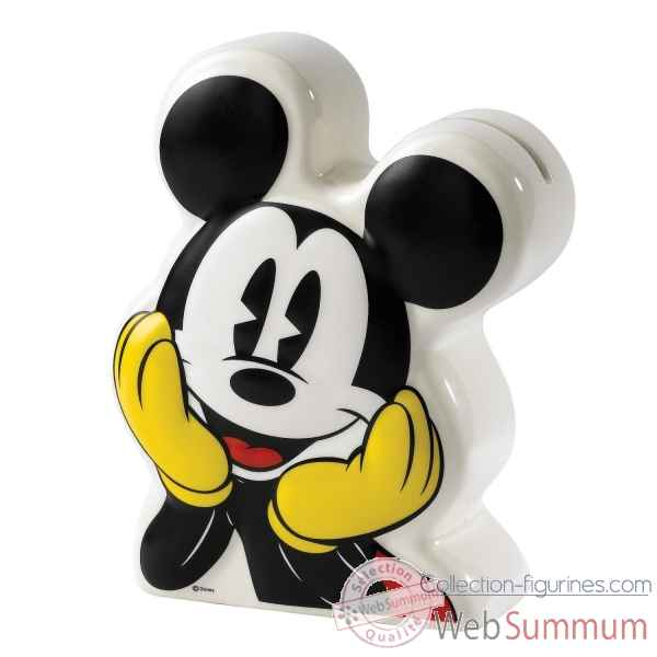 Mickey mouse ceramic money bank enchanting dis Figurines Disney Collection -A27153