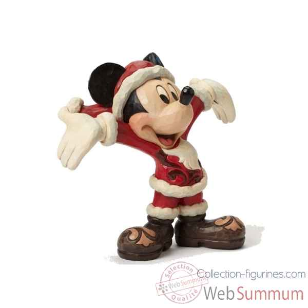 Statuette Mickey mouse christmas cheer Figurines Disney Collection -4046016
