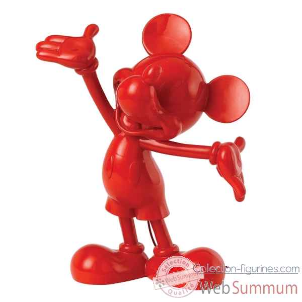 Mickey mouse (red) enchanting dis Figurines Disney Collection -A27154