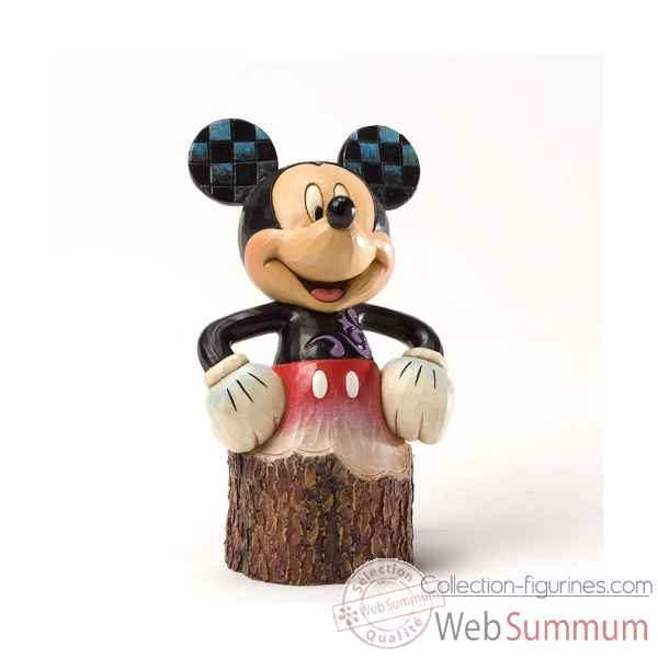 Mickey (wood carved) Figurines Disney Collection -4033288