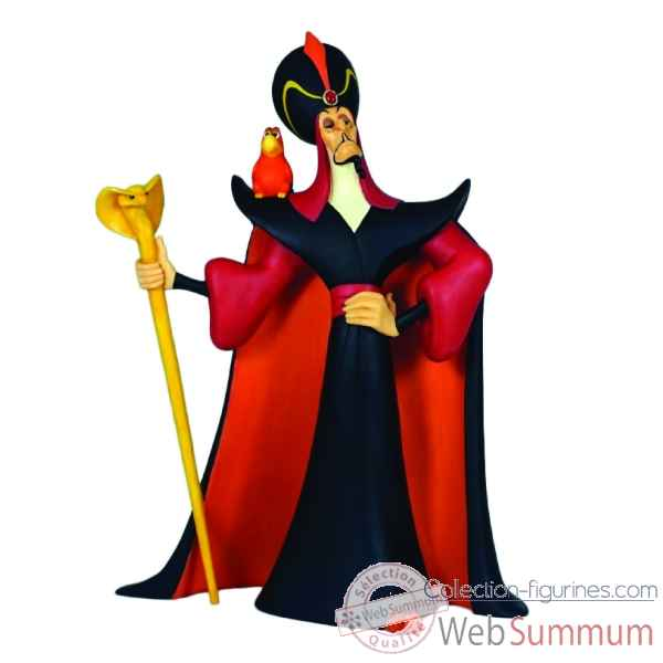 Statuette O mighty evil one iago et jafar Figurines Disney Collection -A28077