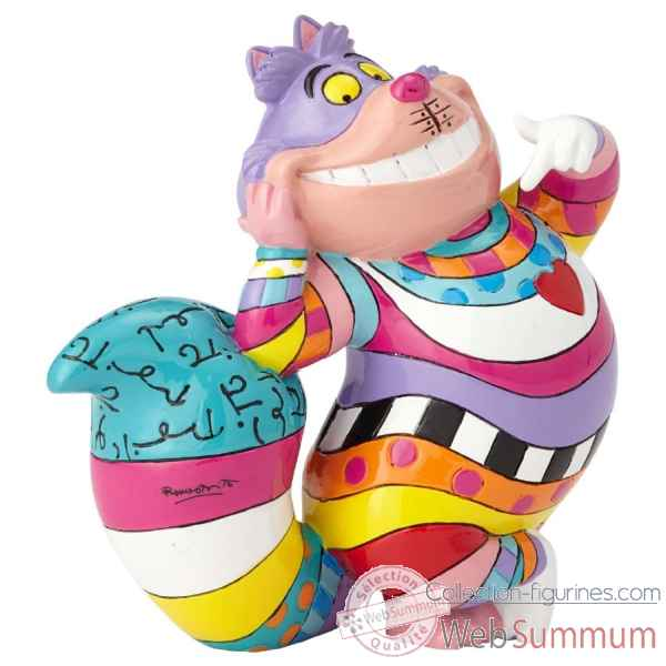 Mini figurine cheshire le chat malicieux disney britto -4059583
