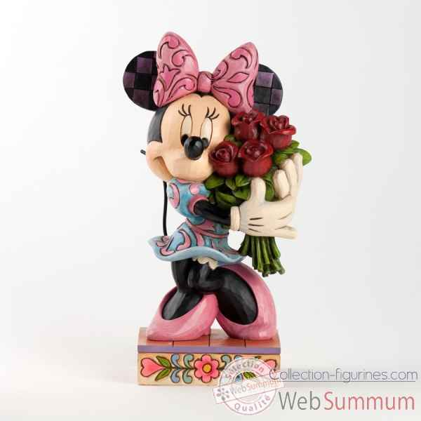 Minnie avec bouquet -4031480