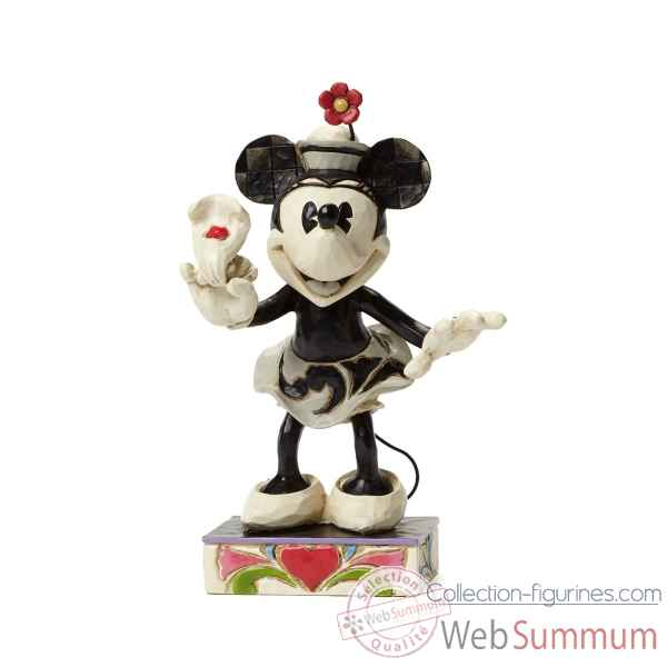 Minnie black & white Figurines Disney Collection -4043666