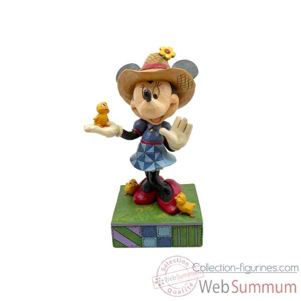 Statuette Minnie fermiere Figurines Disney Collection -4049636