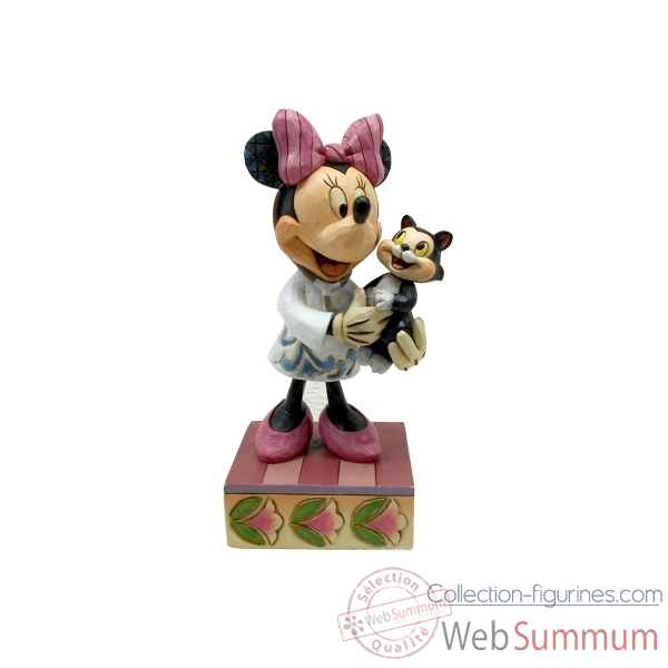 Statuette Minnie mouse veterinaire Figurines Disney Collection -4049631