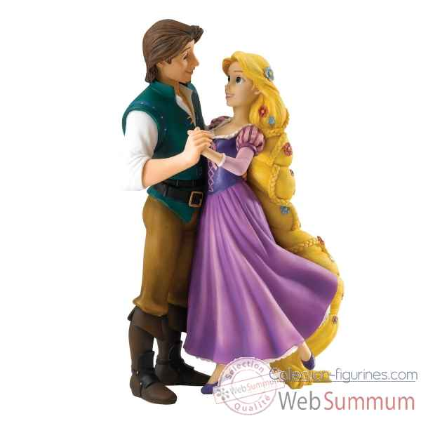 My new dream (rapunzel and flynn) enchanting dis Figurines Disney Collection -A27168