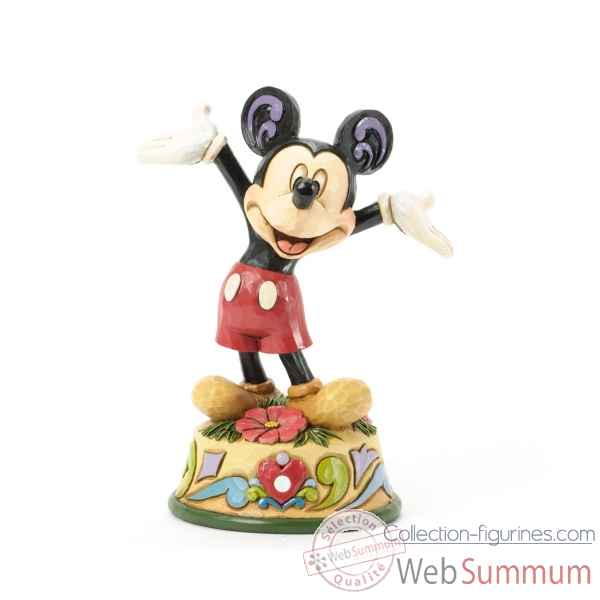 October mickey Figurines Disney Collection -4033967