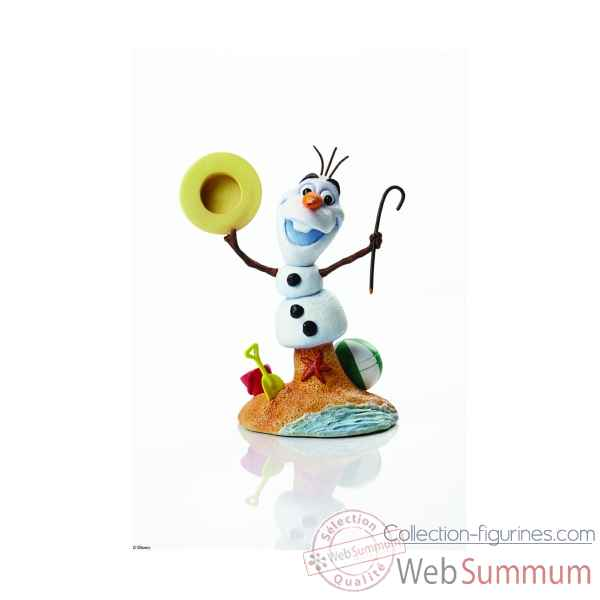 Olaf (16.5cm) grand jesters Figurines Disney Collection -4046190