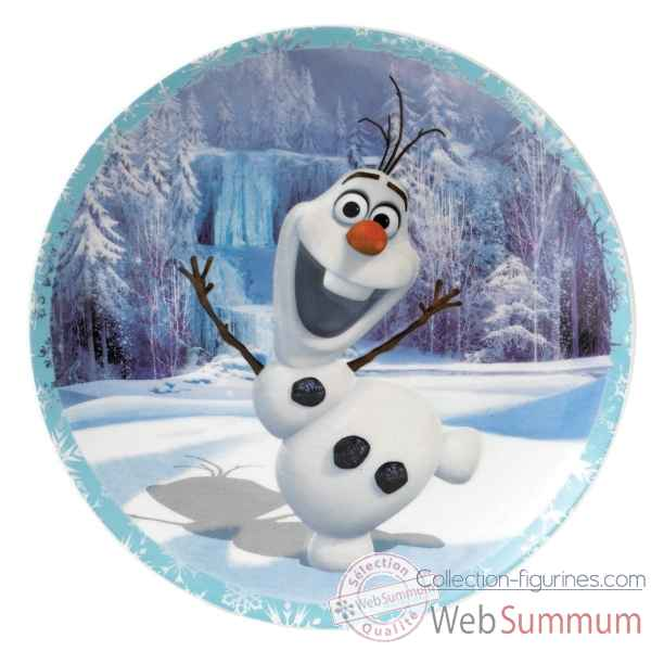 Olaf assiette murale Figurines Disney Collection -A27515