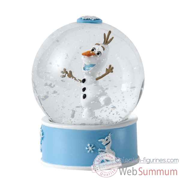 Olaf boule a neige Figurines Disney Collection -A27143