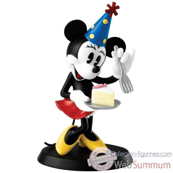 Party time ! (minnie figurine) enchanting dis Figurines Disney Collection -A25907