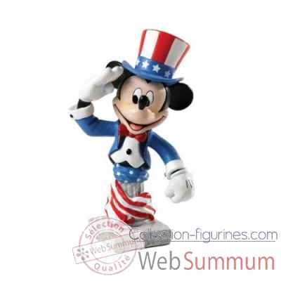 Patriotic mickey bust le 3000 grand jester studios Figurines Disney Collection -4035561