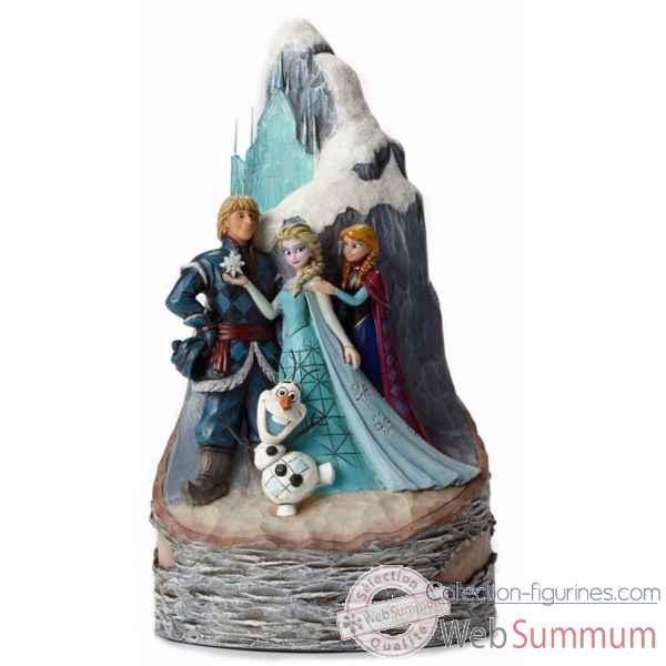 Statuette Personnage de la reine des neiges Figurines Disney Collection -4048651