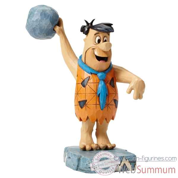 Statuette Pierreafeu twinkle toes fred flintstone Figurines Disney Collection -4051593