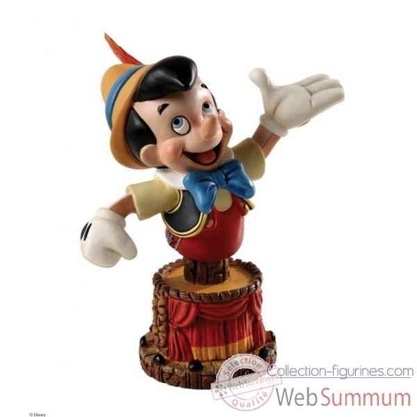 Pinocchio bust le 3000 grand jester studios Figurines Disney Collection -4038502