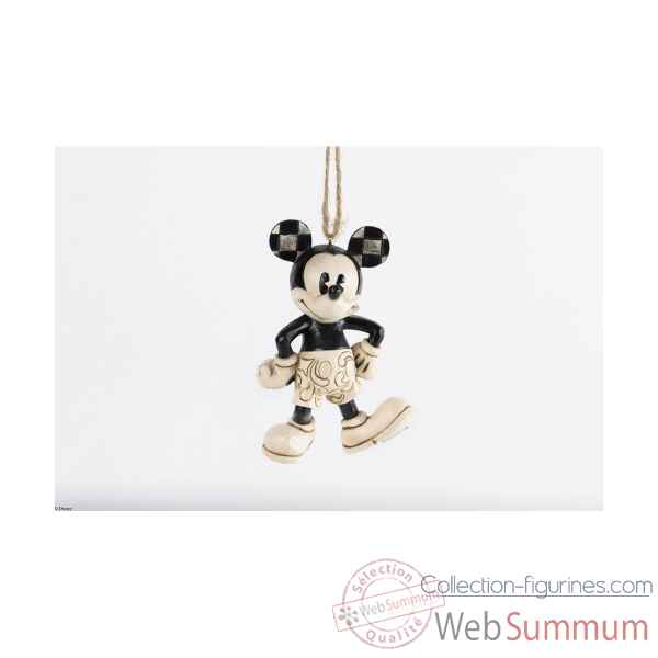 Mickey fou d\'avion suspension Figurines Disney Collection -A25901