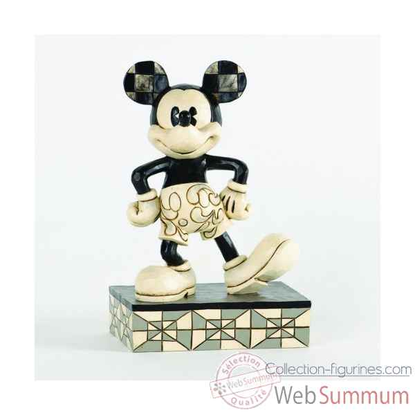 Plane crazy mickey mouse Figurines Disney Collection -4033283