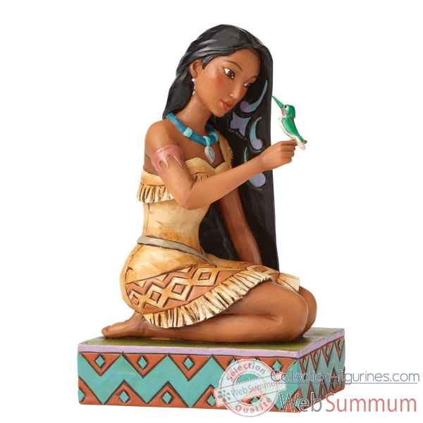 Statuette Pocahontas et son oiseau Figurines Disney Collection -4056128