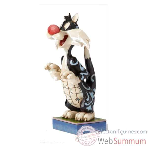 Statuette Predatory puddy tat - sylvestre Figurines Disney Collection -4054868