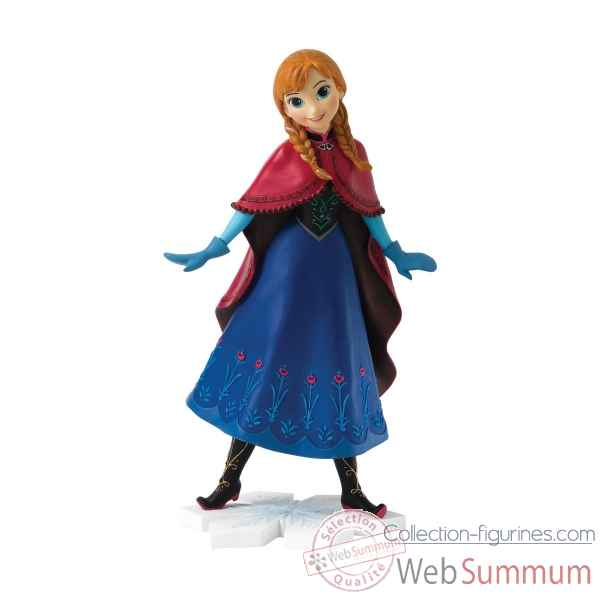 Statuette Princess of arendelle anna Figurines Disney Collection -A27144