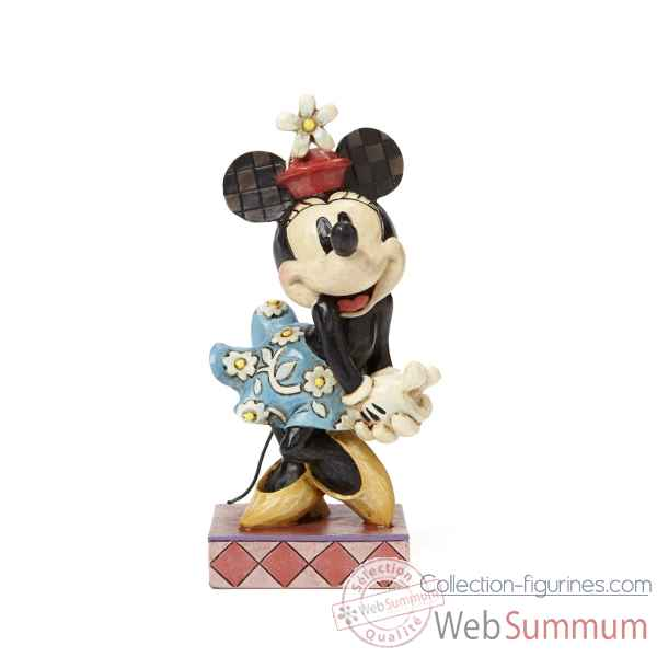 Retro minnie mouse Figurines Disney Collection -4045246