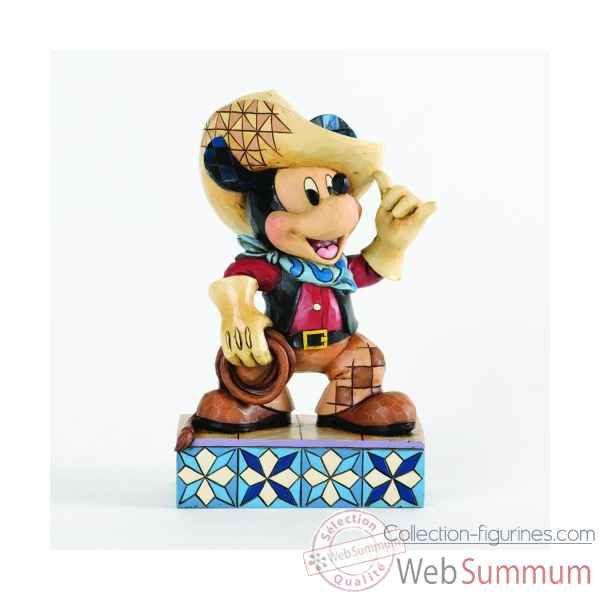 Roundup mickey mickey mouse Figurines Disney Collection -4033286