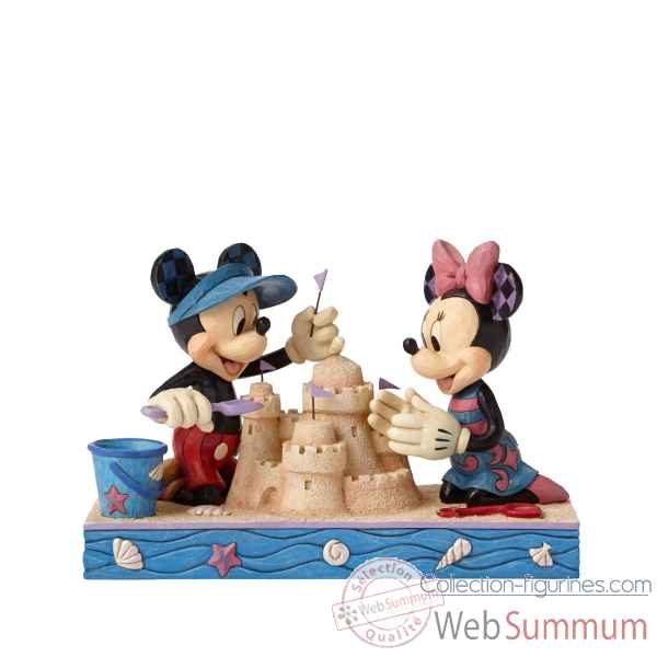 Statuette Seaside sweethearts mickey & minnie mouse Figurines Disney Collection -4050413