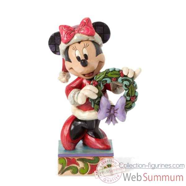 Season\'s greetings minnie mouse Figurines Disney Collection -4039034