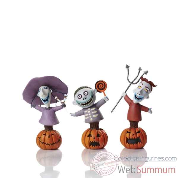 Statuette Set de 3, lock, shock et barrel Figurines Disney Collection -4046188