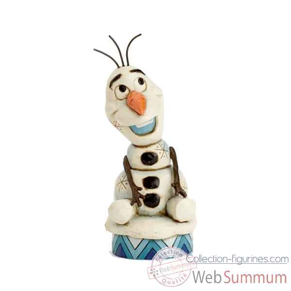 Statuette Silly snowman olaf Figurines Disney Collection -4039083