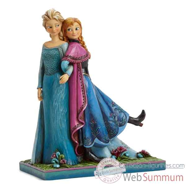 Statuette Sisters forever anna et elsa Figurines Disney Collection -4039079