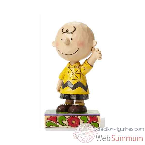 Statuette Snoopy - goodman charlie brown Figurines Disney Collection -4044676