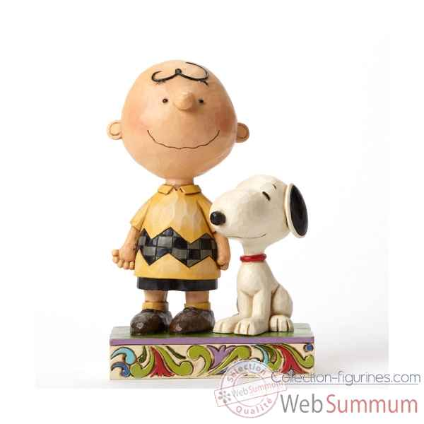 Statuette Snoopy - life is better with a dog Figurines Disney Collection -4042387