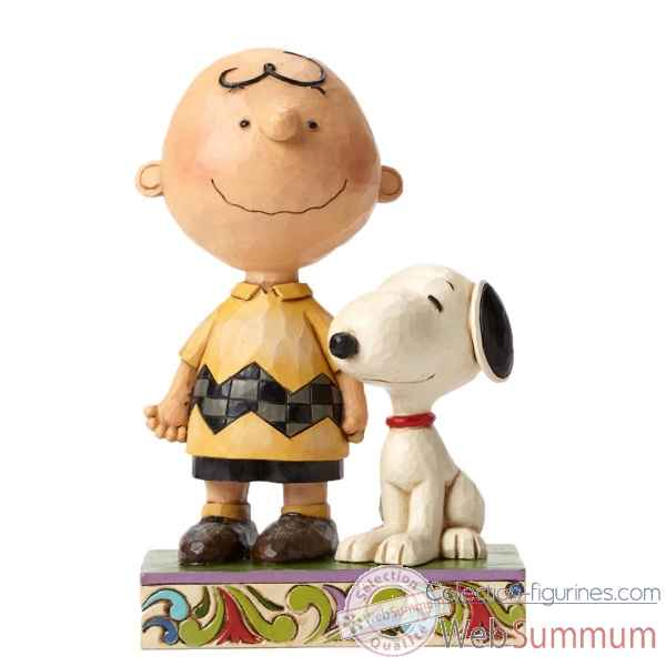 Statuette Snoopy - love is a beagle hug Figurines Disney Collection -4043614