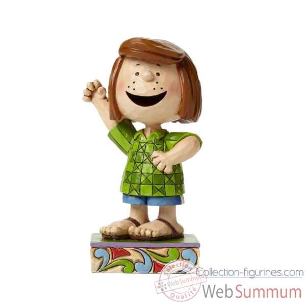 Statuette Snoopy - peppermint patty fun friend Figurines Disney Collection -4044682