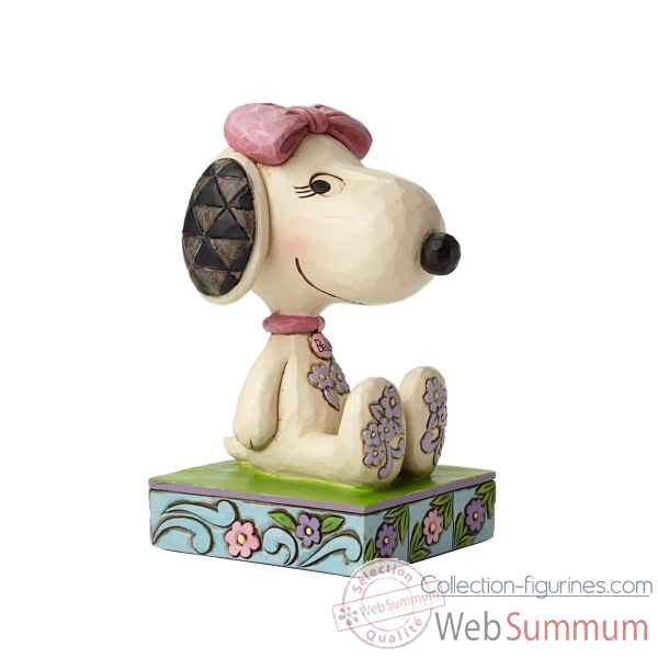Statuette Snoopy\'s sister belle Figurines Disney Collection -4049408