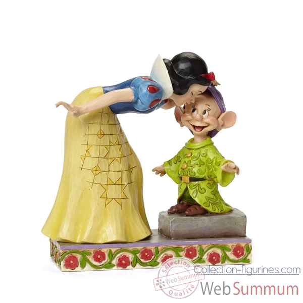 Snow white kissing dopey Figurines Disney Collection -4043650